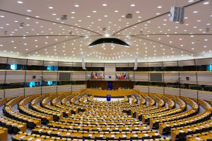Parlement européen hémicycle
