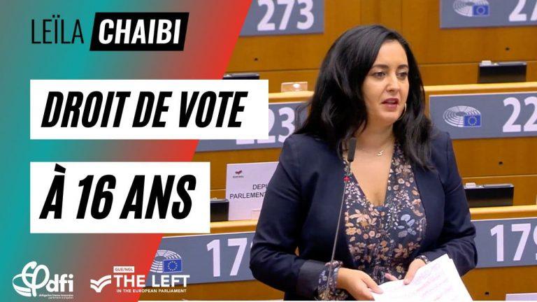 Leïla Chaibi - vote 16 ans