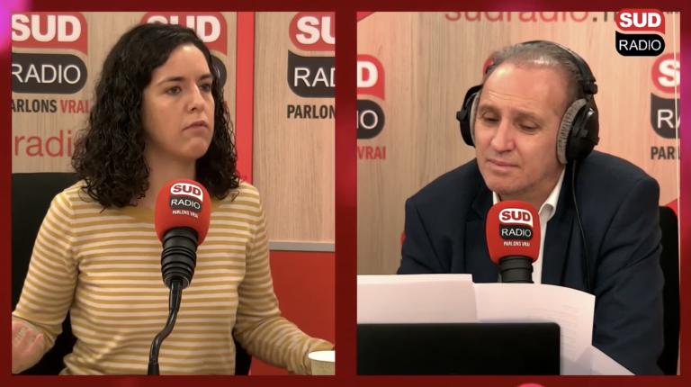 Manon Aubry Sud Radio